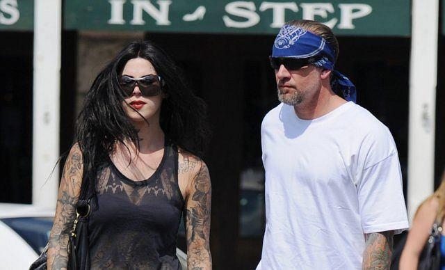 Jesse James jest w trakcie rozwodu z Sandrą i pogodził się, że jej nie odzyska. Kierowca znalazł sobie nową dziewczynę - Kat Von D.