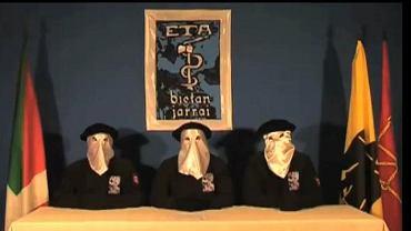 Kadr z nagranie, które BBC otrzymała od ETA