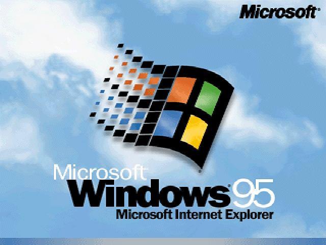 Windows 95, wydany w 1995 roku był pierwszym graficznym systemem operacyjnym Microsoftu. Często także przykleja mu się łatkę pierwszego