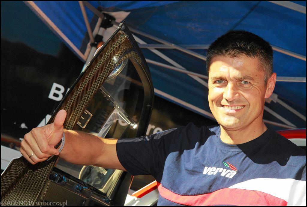 Krzysztof Hołowczyc, sześciokrotny uczestnik Rajdu Dakar