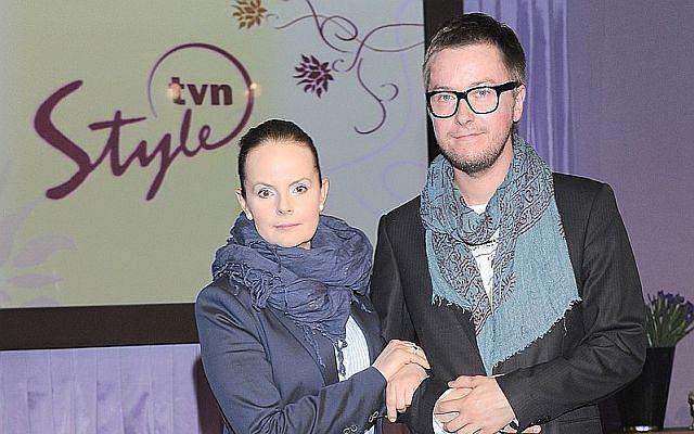 Tomasz Kin i Karolina Korwin-Piotrowska.