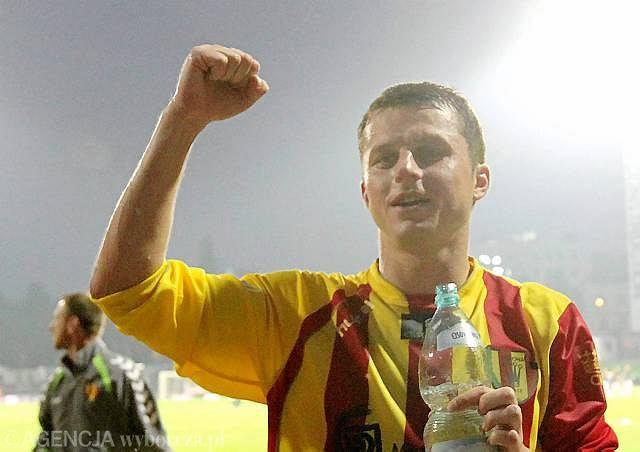 Andrzej Niedzielan w barwach Korony Kielce