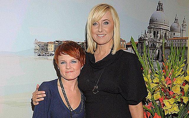 Agata Młynarska pojawiła się z adoptowaną córką Sylwią Mor na imprezie Magdy Gessler.