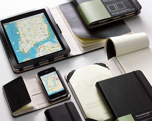Moleskine dla iPada i iPhone