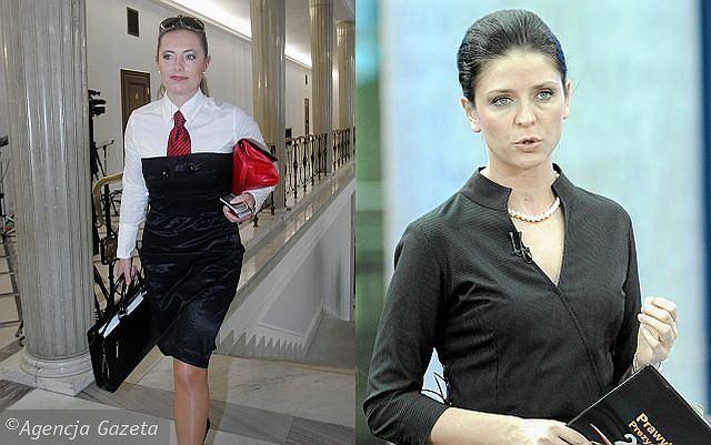 Renata Zaremba i Joanna Mucha - dwie piękności z sejmu. Która bardziej sexy?