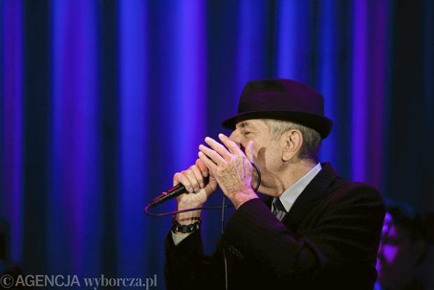 Zdjęcie numer 3 w galerii - Leonard Cohen zawładnął Spodkiem