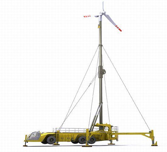 Mobile Wind Turbine