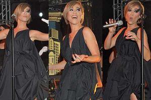 Dawno nie widziana na scenie Natalia Kukulska wreszcie zagrała koncert. Piosenkarka miała bardzo ciekawą stylizację.