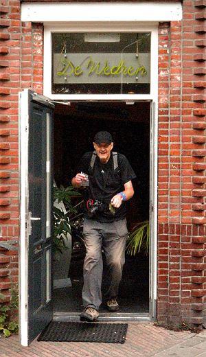 Vierdaagse: Rudy tuż po wizycie w coffee shopie