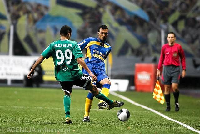10. kolejka. Arka - GKS 1:0. Fot. Rafał Malko / Agencja Gazeta