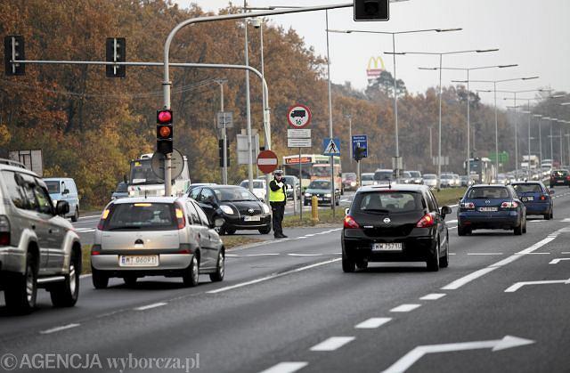 Ul. Pułkowa - droga wylotowa z Warszawy. Początek Akcji