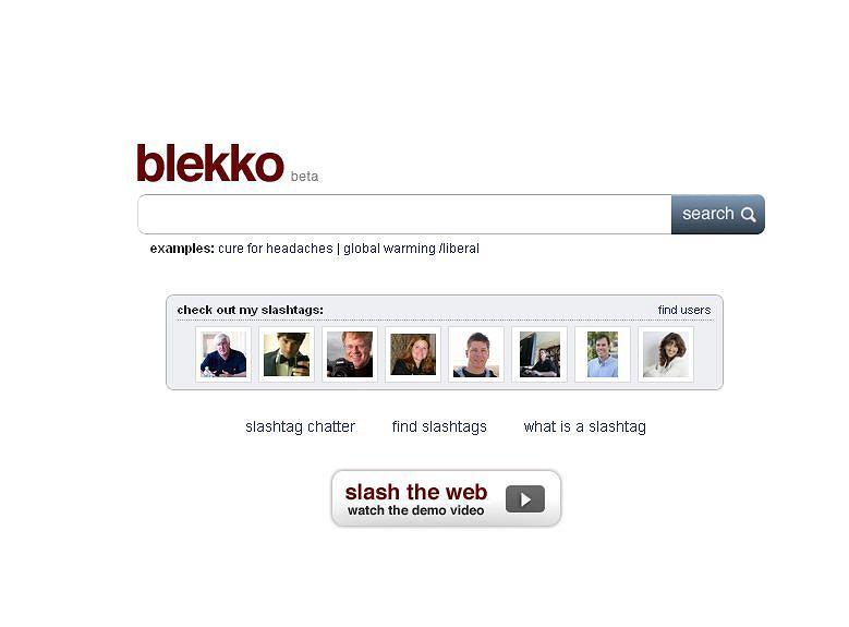 Blekko - nowa wyszukiwarka