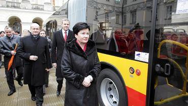 Prezydent Hanna Gronkiewicz-Waltz