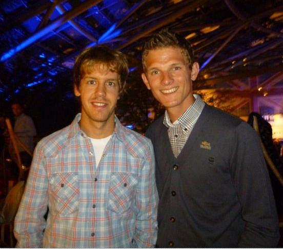Sebastian Vettel i Thomas Morgenstern