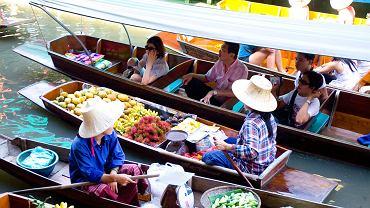 tajlandia, targ wodny