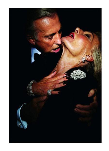 sesja Forever Love z grudniowego numeru Vogue Paris zdjęcia Tom Ford
