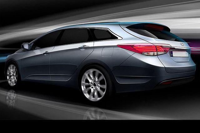 Hyundai i40 CW - pierwsze szkice