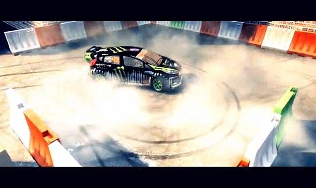 Dirt3 DC Compound Gymkhana Trailer