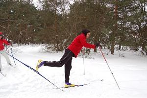 Warszawa, śnieg i biegówki. Gdzie można już biegać na nartach?