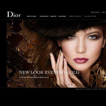 Nowa odsłona kosmetycznej sekcji strony Dior.com
