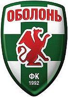 Herb klubu piłkarskiego Obołon Kijów