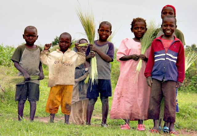 Kamerun - dzieci