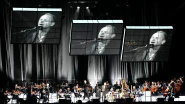 Sting podczas uroczystego otwarcia Stadionu Miejskiego w Poznaniu