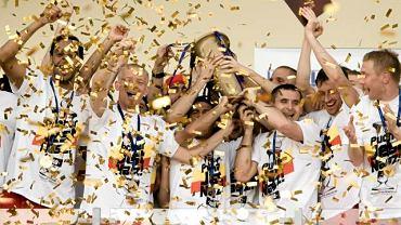 Radość z Pucharu Polski w 2010 r. Jagiellonia pokonała Pogoń
