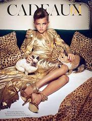 sesja Cadeaux - Vogue Paris grudzień 2010 / styczeń 2011