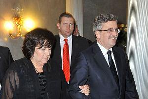 Taka para prezydencka to skarb. Bronisław Komorowski i Anna Komorowska często biorą udział w wydarzeniach kulturalnych.