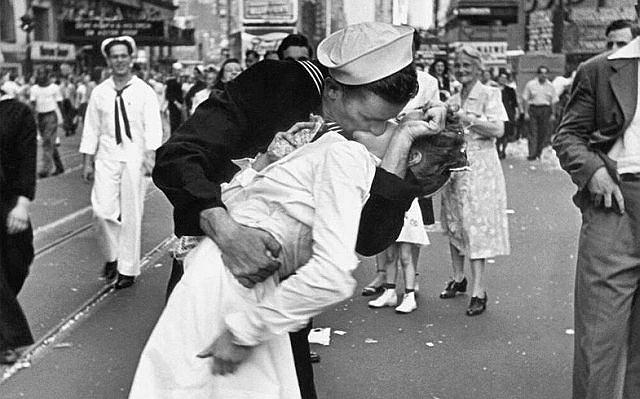 Najsłynniejszy pocałunek w kolorze