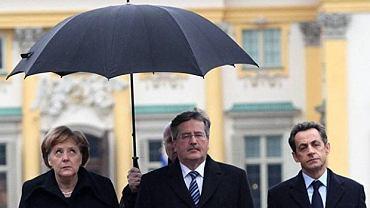 Trójkąt Weimarski, Merkel, Sarkozy, Komorowski