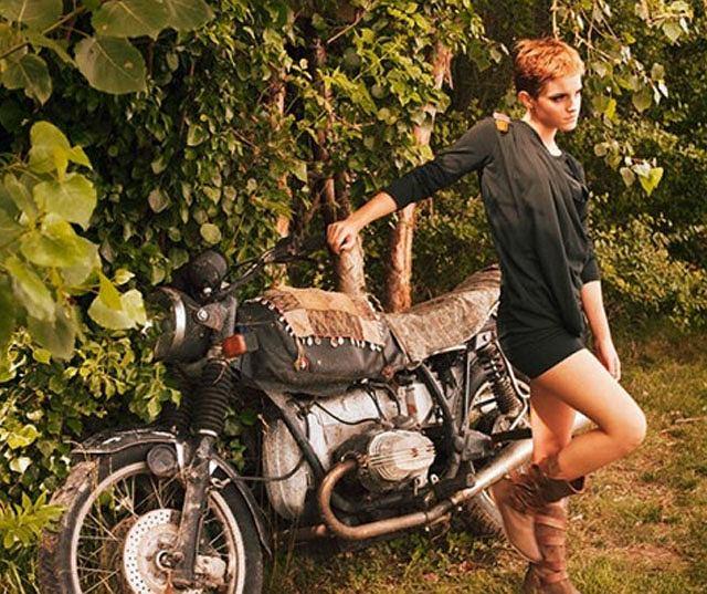 Emma Watson dla People Tree, wiosna 2011 - aktorka twarzą ekologicznej marki ubrań