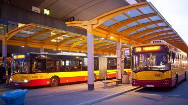Rozkład jazdy ZTM Warszawa - nowe nocne linie autobusowe będą odjeżdżały z pętli przy Dworcu Centralnym