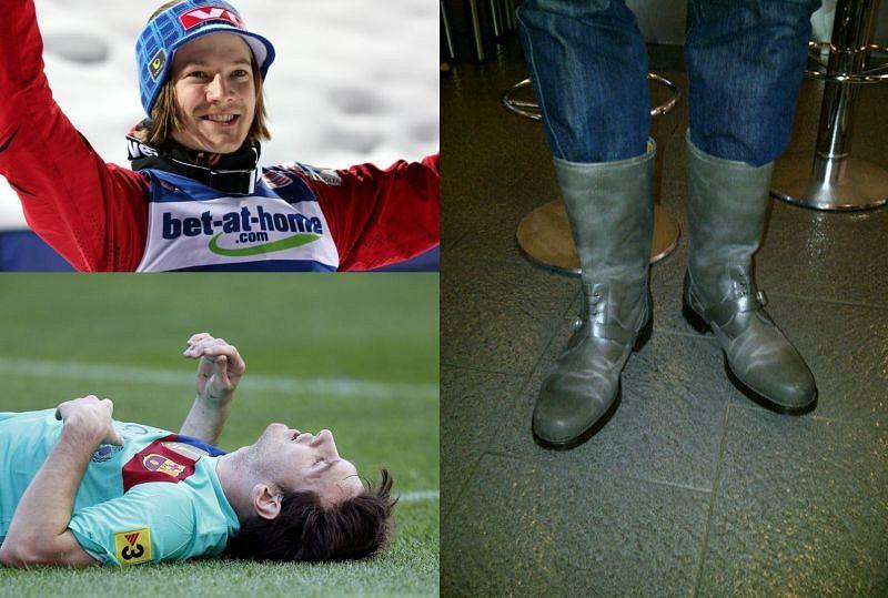 Tom Hilde, Leo Messi, buty Gerarda Pique