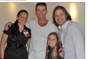 Meather Russell, matka Heather, Simon Cowell, Rob Fusari