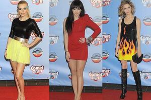 Na gali Viva Comet 2011 gwiazdy zaprezentowały prawdziwy festiwal modowych emocji. Zobaczcie kto i co na siebie założył.