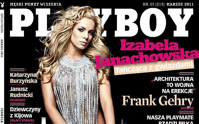 Izabela Janachowska w Playboyu