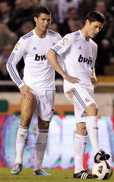 Cristiano Ronaldo i Xabi Alonso