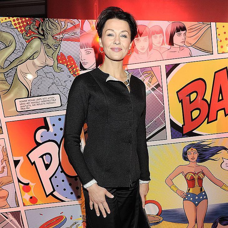 Anna Popek na gali MAC Wonder Woman