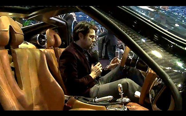 Fragment brytyjskiego programu Fifth Gear z Olivierem Janiakiem
