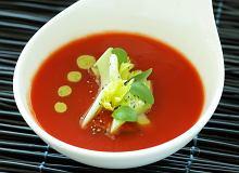 Minestrone z selera naciowego i świeżych pomidorów - ugotuj