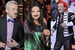 Gwiazdy programu Bitwa na głosy pożegnały Adama Małysza. Która z nich najzabawniej wyglądała w wąsach?