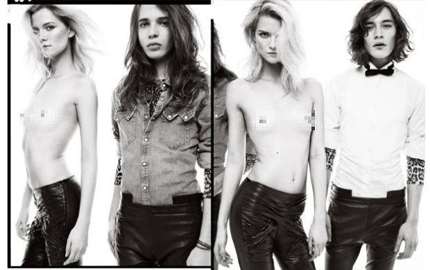 Kasia Struss pojawiła się w sesji dla magazynu ''Numéro Homme''. Niektóre zdjęcia są bardzo odważne. Na dwóch z nich występuje topless. Trzeba przyznać, że Kasia bardzo ładnie wyszła na zdjęciach.