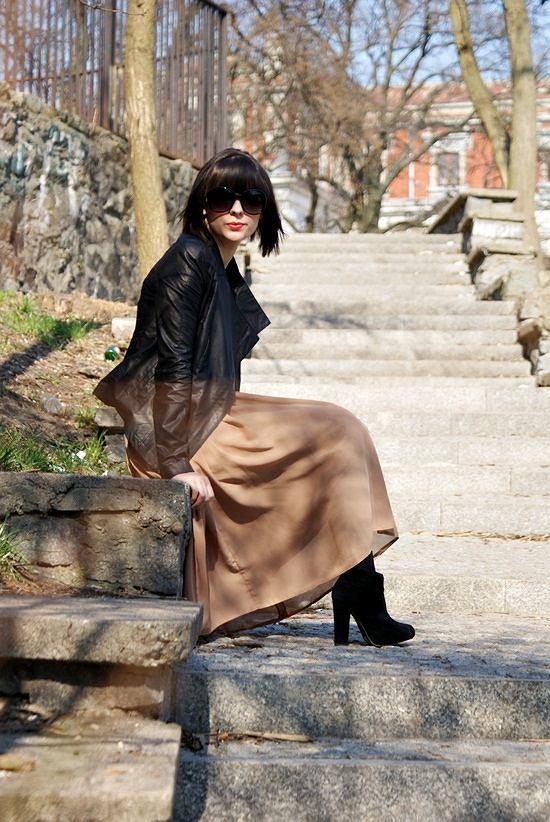 sukienka - atmosphere (ebay.co.uk), buty - ebay.co.uk, kurtka - www.romwe.com, okulary - h&m