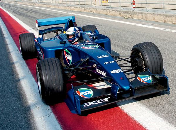 Moim bolidem jeździł kiedyś sam Alain Prost