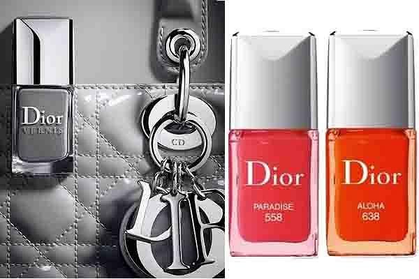 Nowe lakiery na wiosnę od Diora