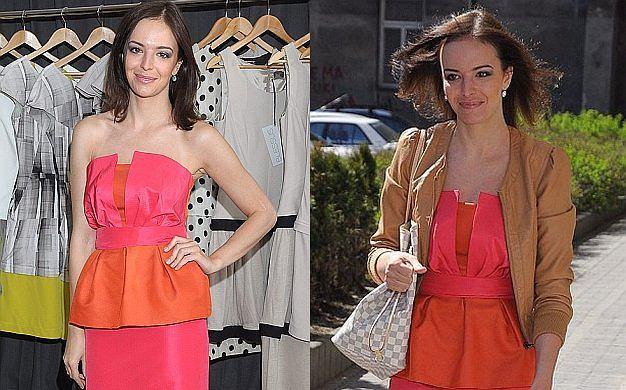 Dziennikarka TVN Anna Wendzikowska słynie z nienagannego stylu. Zawsze ma na sobie modne ubrania i najnowszymi trendami operuje bardzo umiejętnie i z wyczuciem. Na otwarciu butiku Blessus pojawiła się w hitowym połączeniu kolorów różowego i pomarańczowego. Wyglądała super. Jak wam się podoba?
