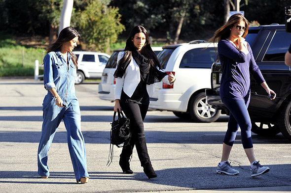 Kourtney Kim i Khloe Kardashian