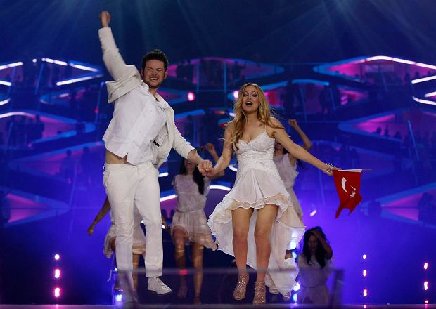 Zdjęcie numer 1 w galerii - Azerbejdżan świętuje zwycięstwo na Eurowizji